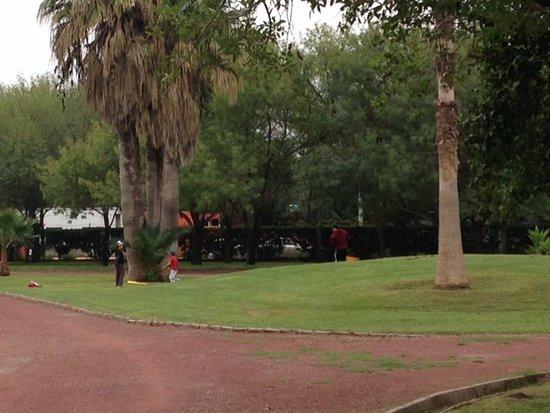 Monclova, Meksyk: Campo de Bisbol improvisado en Parque Xochipilli 1