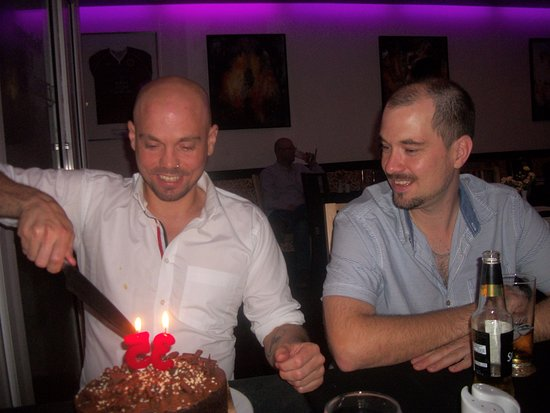 Newton Aycliffe, UK: Ashley's birthday