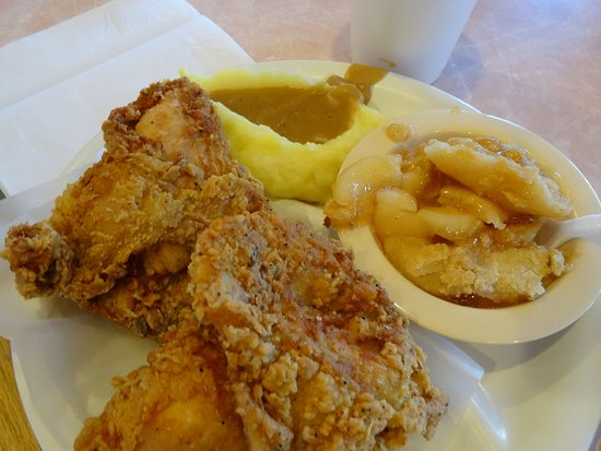 Greer, SC: My wife let me try her fried chicken - tender and delicious is all I can say !