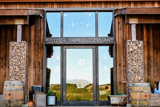 Peltzer Winery Our front door was welded by our very own Farmer Charlie. & Our front door was welded by our very own Farmer Charlie. - Picture ...
