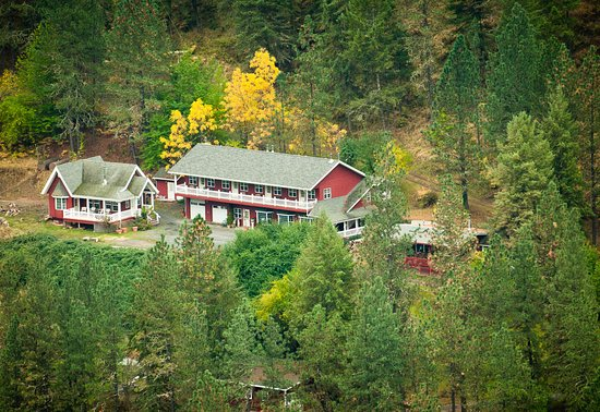 Kamiah, ID: Lodge and Canterbury Cottage