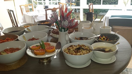 Hermon, แอฟริกาใต้: Breakfast to accompany custom individual order