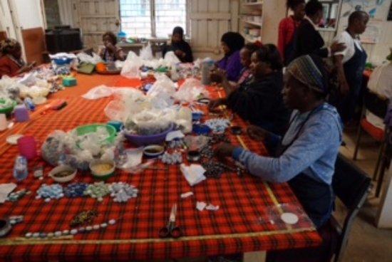 Kazuri Beads Factory: Sorting finished beads