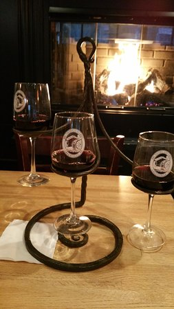 Greenville, DE: Red wine flight.
