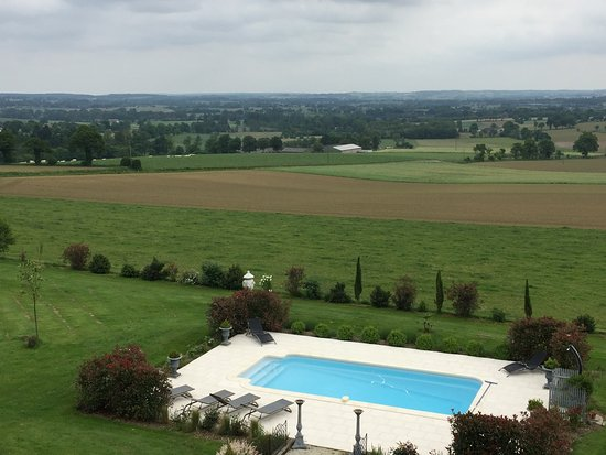 Fougeres, France: view from 2nd floor