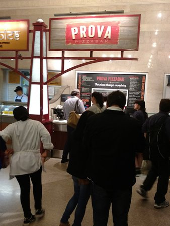 Two Boots - Grand Central: Prova - opened where Two Boots Grand Central was.