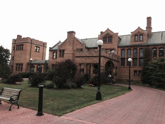 Lenox, MA: Mansion Front Entrance