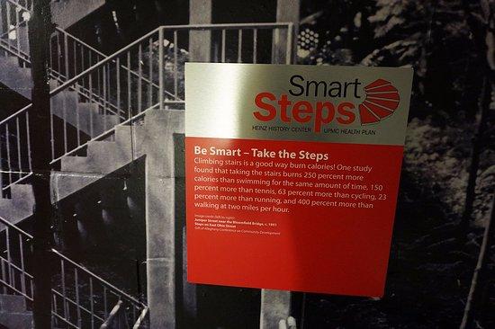 Senator John Heinz History Center: stairwell