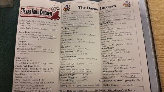 Lacombe, Canadá: Burger Baron