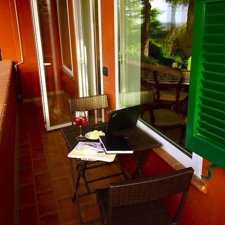 Villa Nuba Charming Apartments: terrace