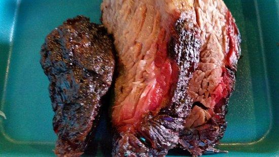 Harlingen, TX: Rio Grande Grill Brisket Close-Up