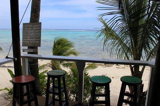 เกาะ Titikaveka, หมู่เกาะคุก: The view