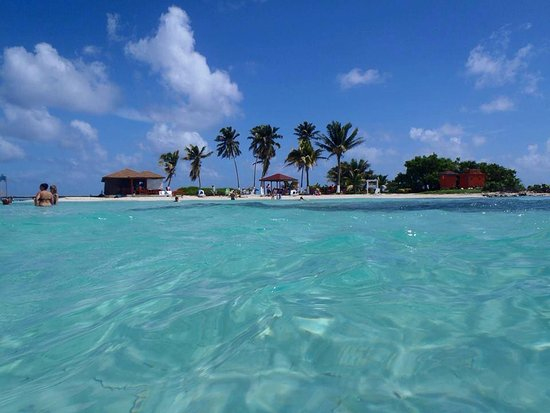 Goff's Caye is PARADISE!