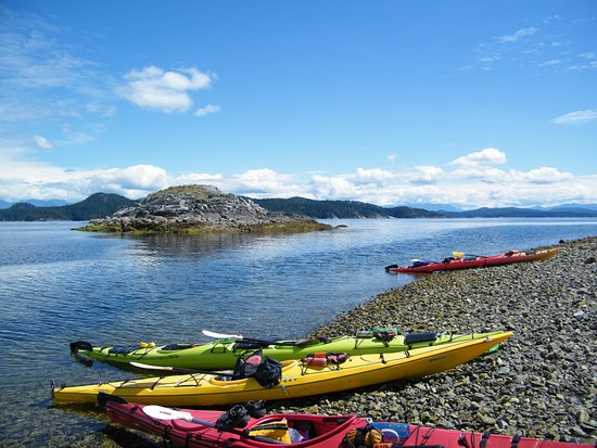 Heriot Bay, Kanada: a pit stop on day one