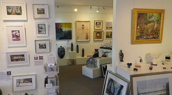 Inside Art on Cairncross, Maleny