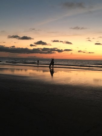 Playa Grande, Costa Rica: Sunset surf lesson.
