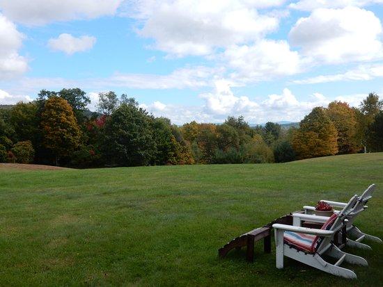 Quechee, VT: view from lawn