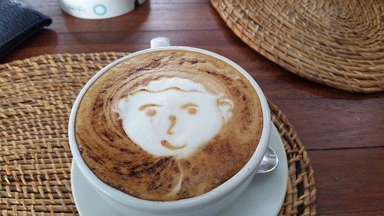 Rosetta Coffee Shop : Like looking in a mirror!