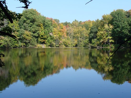 Canfield, โอไฮโอ: Lake Cohasset, Mill Creek Park
