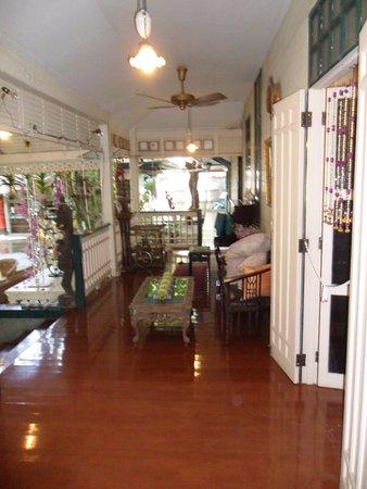 The Museum of Floral Culture: veranda