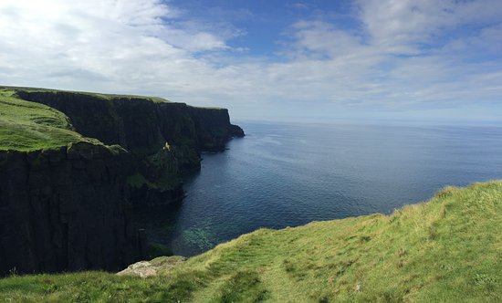 Doolin, Ireland: View from the hike
