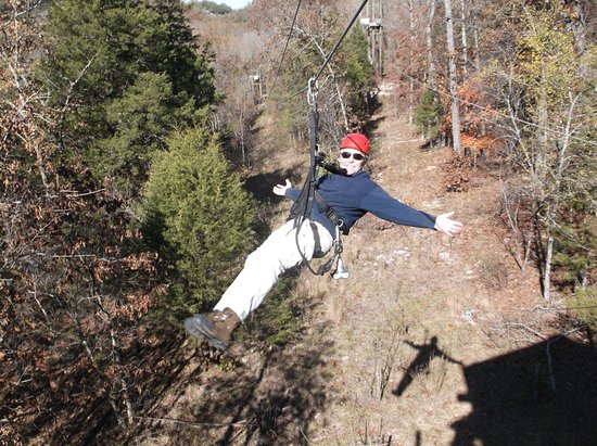 Branson Zipline and Canopy Tours: Zipping free above the trees