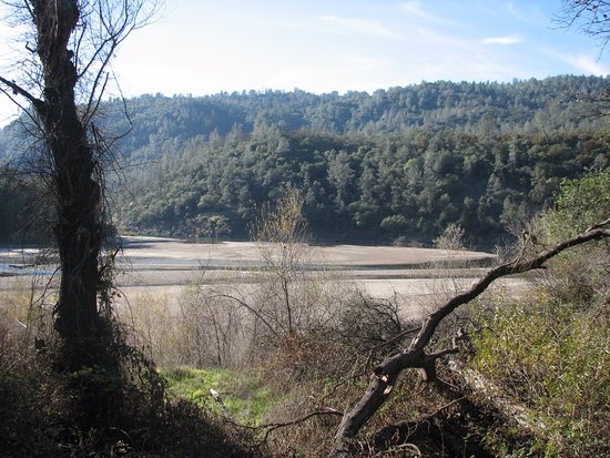 Penn Valley, CA: Point Defiance, convergence of South with Yuba river