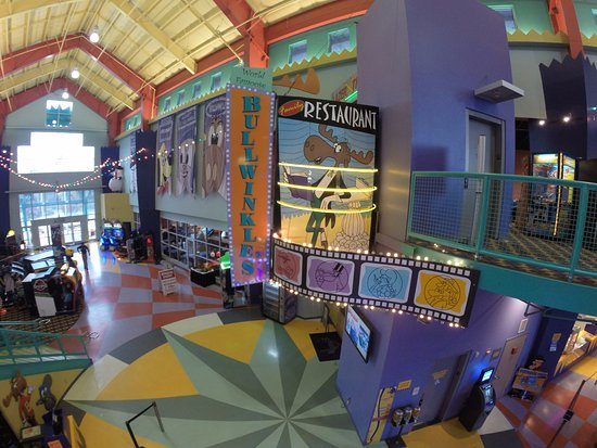 Inside our lobby - Picture of Family Fun Center and Bullwinkle's