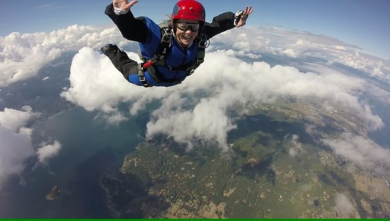 Capital City Skydiving: A skydiving student learning the basics :)