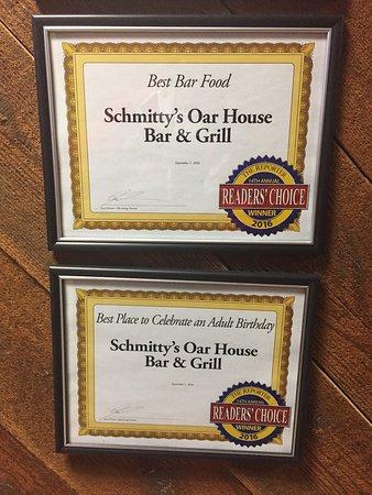 Fond du Lac, WI: Great Bar Food at Schmitty's!
