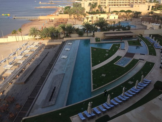 Kempinski Hotel Aqaba Red Sea: Wonderful view