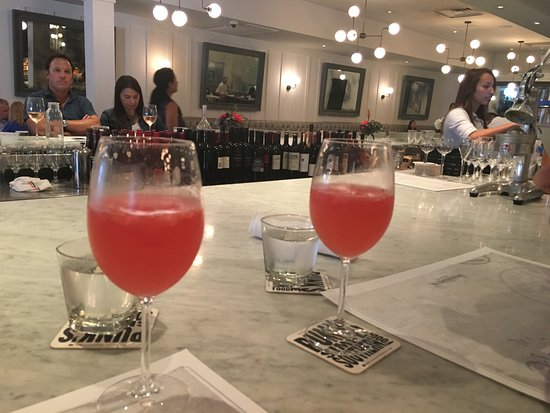 "Brasserie 19: ""Awesome watermelon Mimosa's!"""
