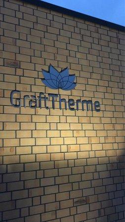 Delmenhorst, Γερμανία: Das Logo der GraftTherme.