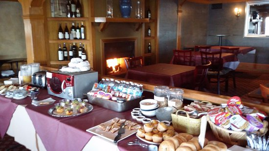 The French Country Inn On Lake Continental Breakfast Selection