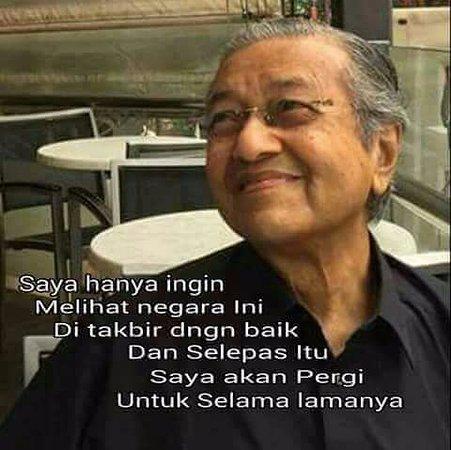 Rumah Kelahiran Mahathir: Tun mahazir ...the greatest statement