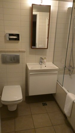 Shampoos, Etc. And Hair Dryer Are In The Cabinet Under The Sink.   Picture  Of Hotel Odinsve, Reykjavik   TripAdvisor