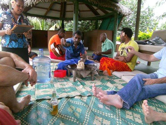 Waidroka Bay Resort: Kavazeremonie