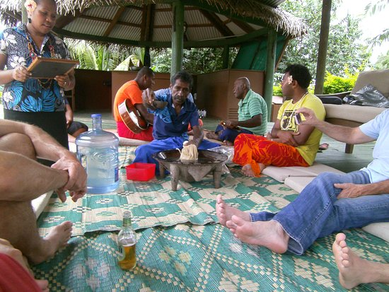 Korovisilou, Fiyi: Kavazeremonie