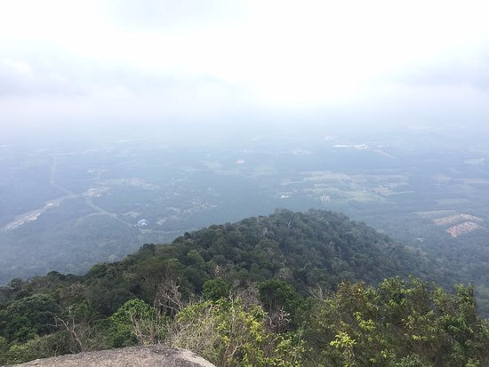 Rembau, Malasia: view from top of the mountain