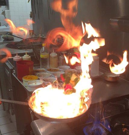 Camrose, Kanada: Pan Flame