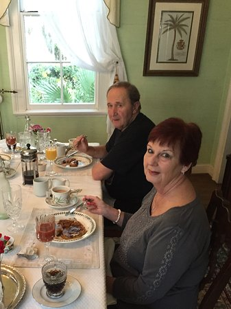 Cuthbert House Inn: Wonderful breakfast!