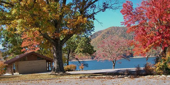 Butler, TN: Pavillion at Watauga Point.