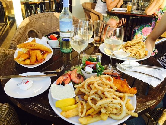Largs Bay, Australia: Seafood Platter
