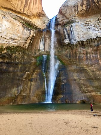 Calf Creek Falls Recreation Area: This waterfall made the six mile round trip well worth it. Pack a lunch and be sure to dip your