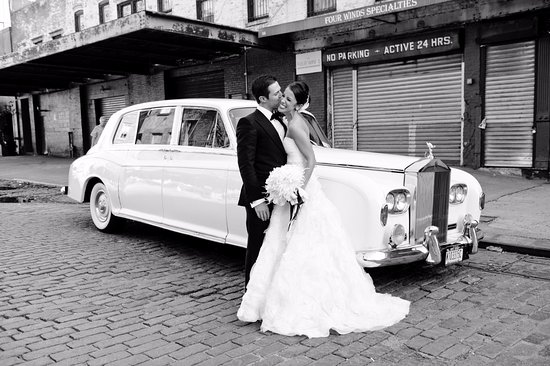 Yonkers, NY: 1965 Rolls Royce - Wedding Downtown NYC