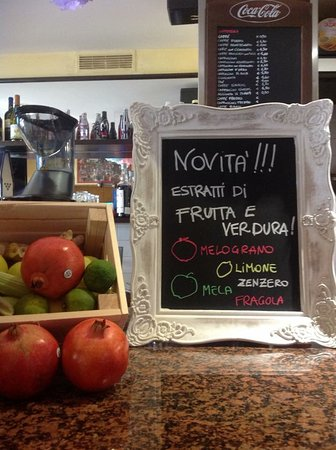 Otricoli, Itália: Gli estratti di frutta e verdura di stagione per il vostro benessere.