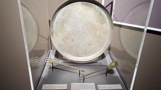 Clayton Museum of Ancient History: Roman era upper-class dining set