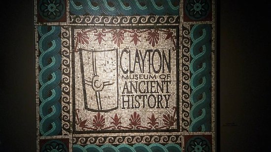 Clayton Museum of Ancient History: Clayton Museum mosaic
