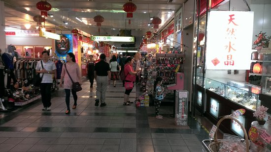 龙山寺地下街商场