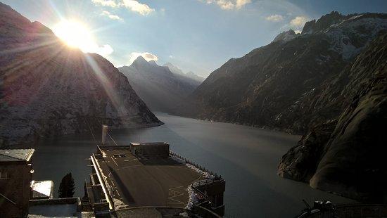 Guttannen, İsviçre: Artificial lake of Grimsel